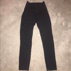cropped lulu leggings